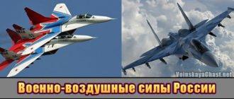 Военно-воздушные силы России