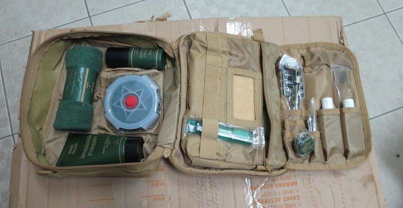 Распаковка армейского несессера