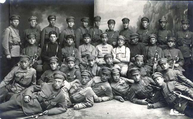 18-й выпуск 1 Московских советских пулеметных курсов