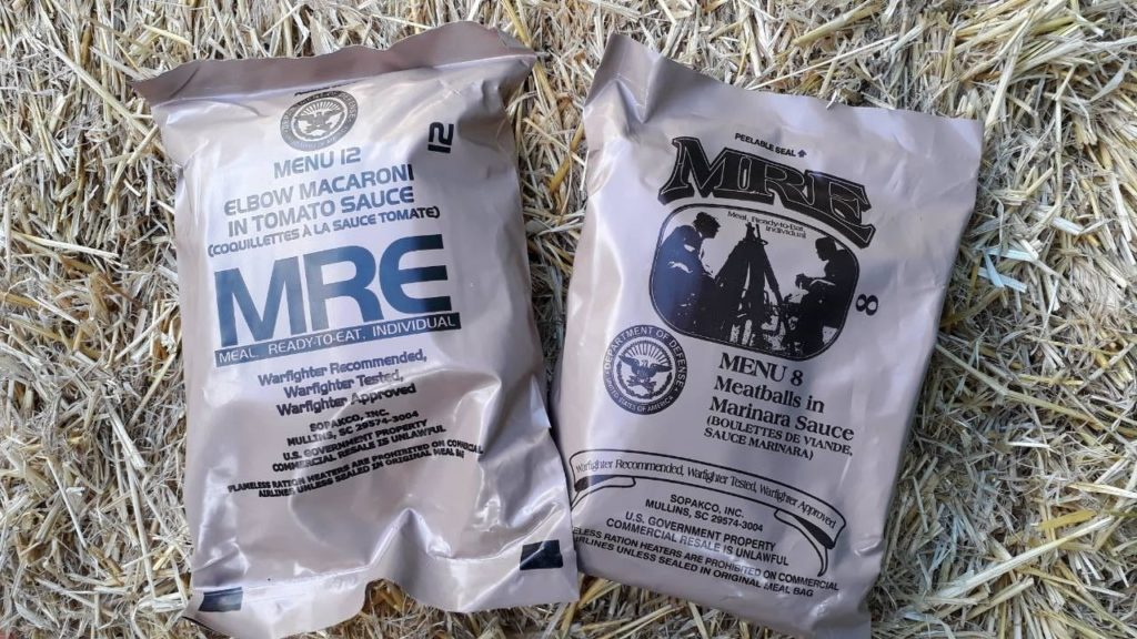 Американский сухой паек (MRE – «Meal Ready to Eat»)