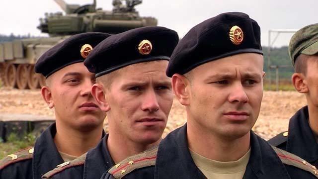 Черные береты танкистов