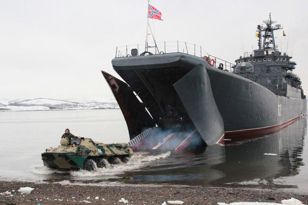 Боевая техника береговых войск ВМФ России