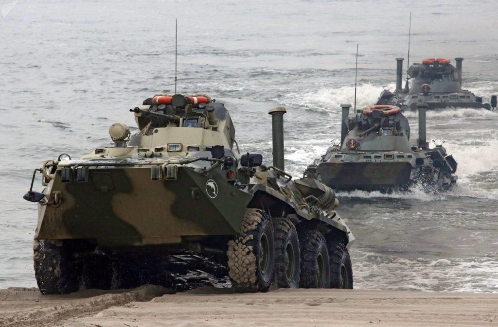 Бронетехника береговых войск ВМФ России