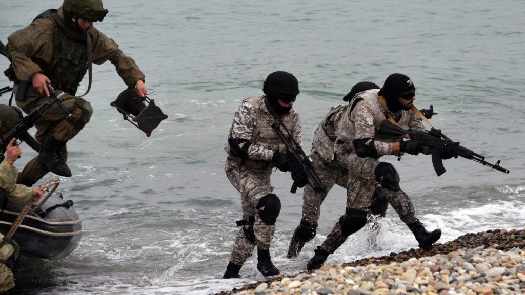 высадка десанта береговых войск