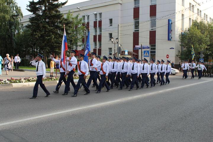 Торжественный митинг, посвященный Дню ВВС России