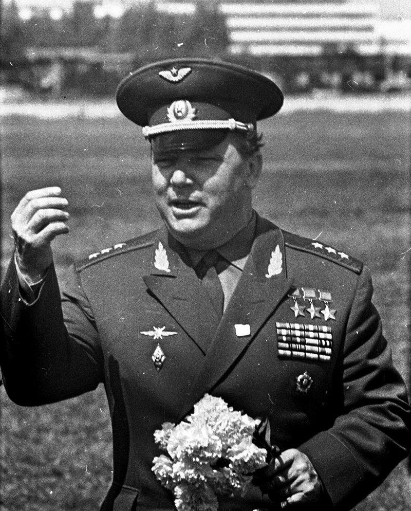 Генерал-полковник авиации Иван Кожедуб
