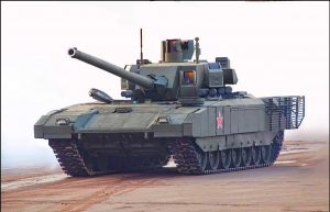 """Т-14 """"Армата"""" без защитных накладок на башне"""