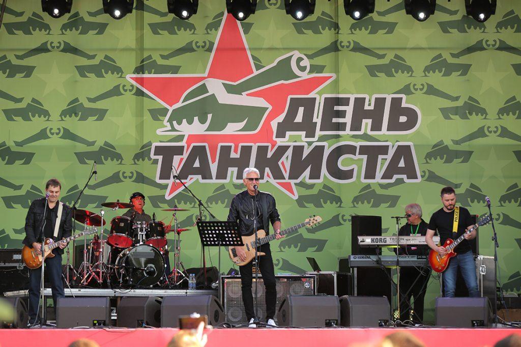 Концерт в честь дня танкиста на УралВагонЗаводе