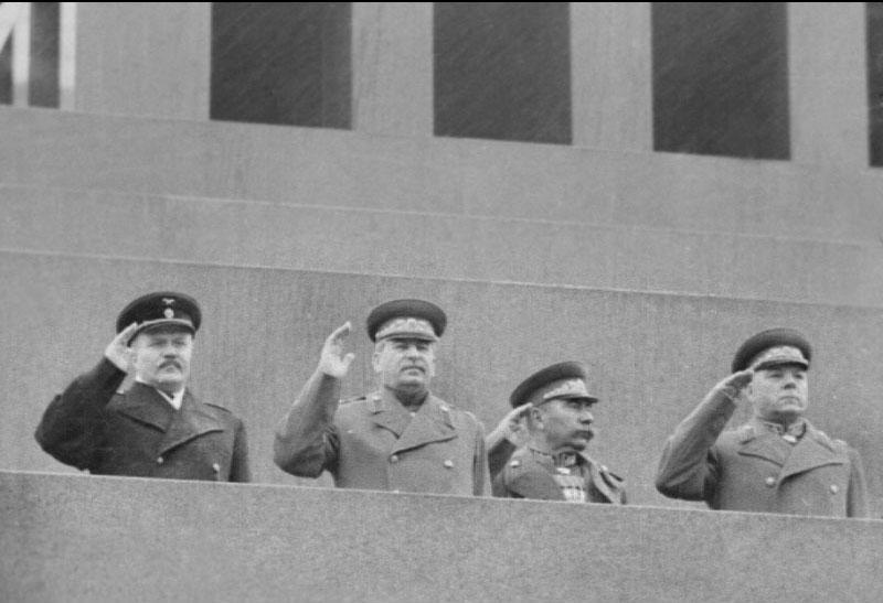 Сталин на Параде 1945 года