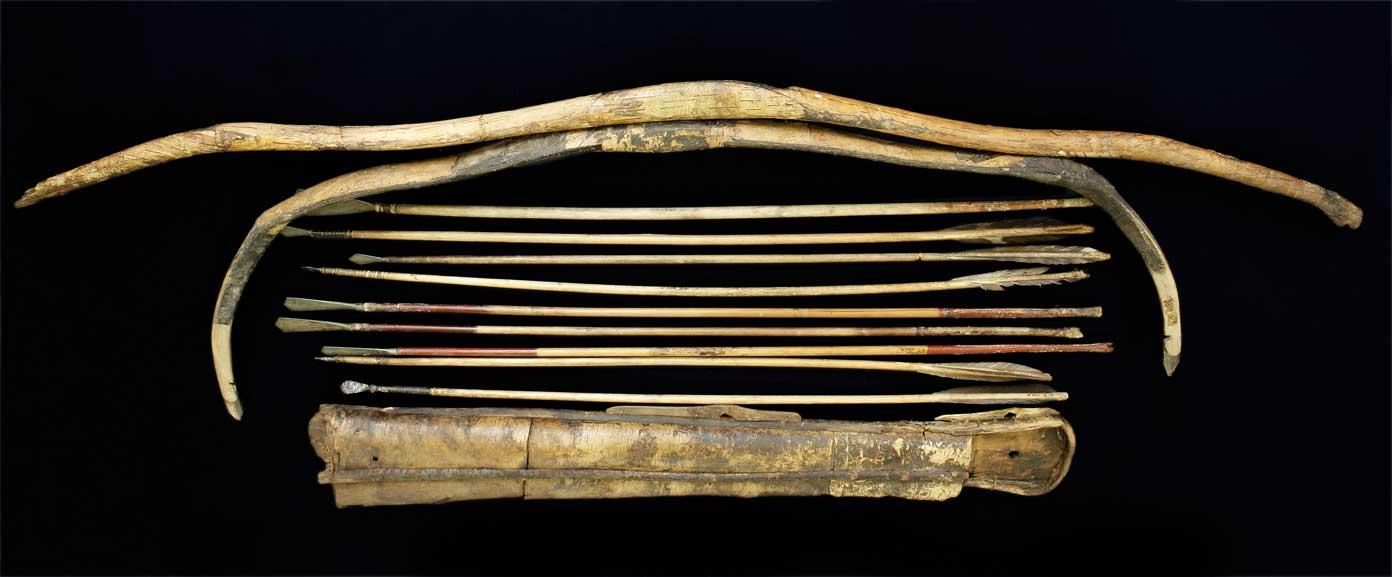 Древнекитайские луки и стрелы
