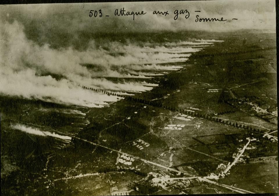 Применение химического оружия в первой мировой войне