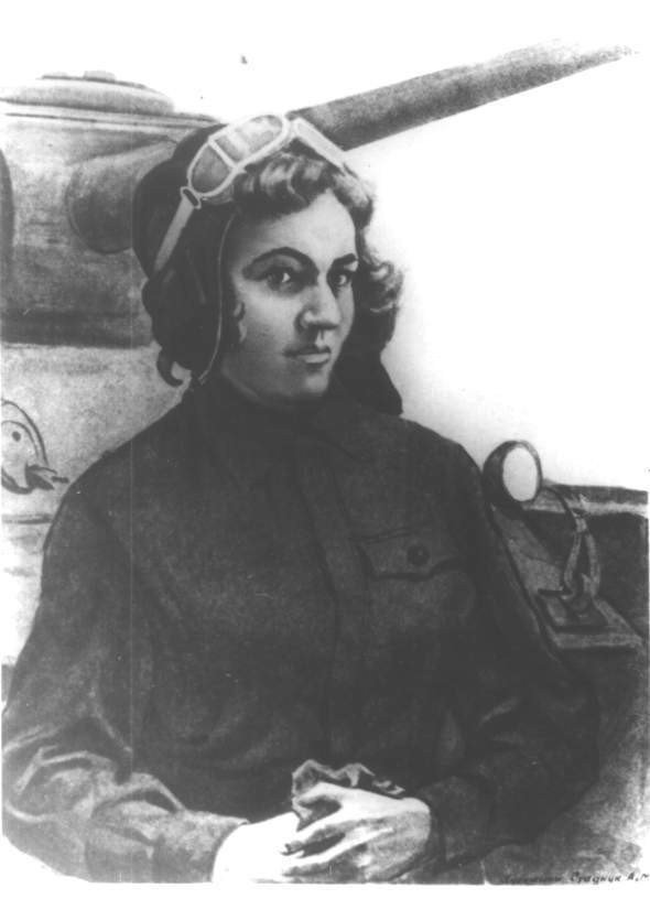 Герой Советского Союза Мария Октябрьская
