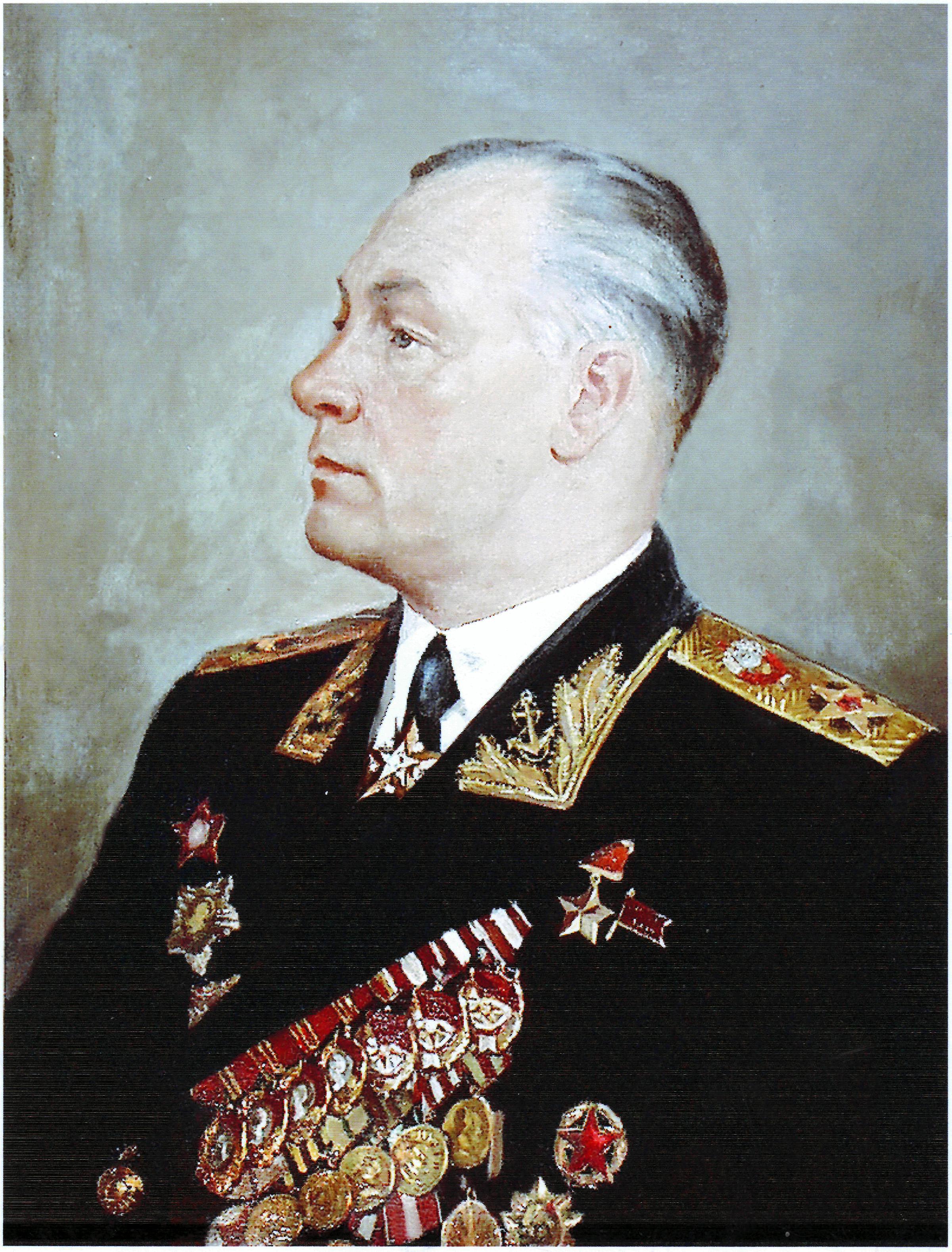 Адмирал Флота Советского Союза Николай Герасимович Кузнецов