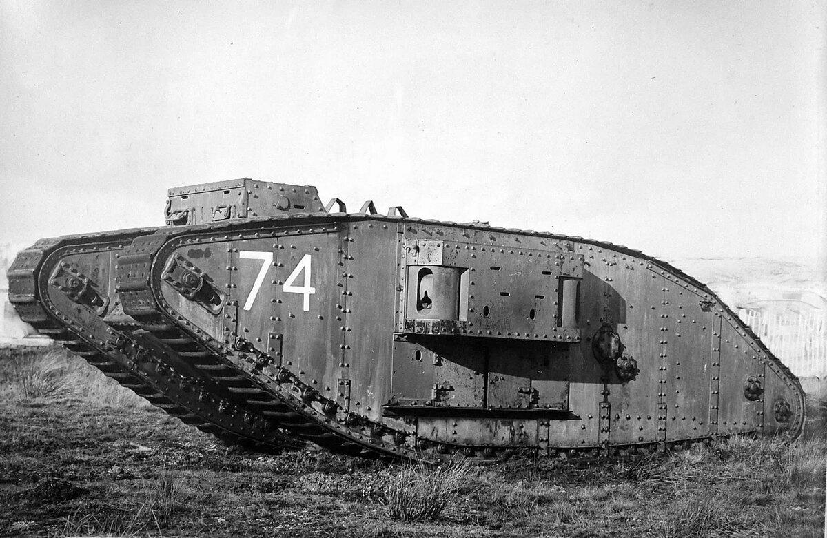 Танк времен первой мировой войны
